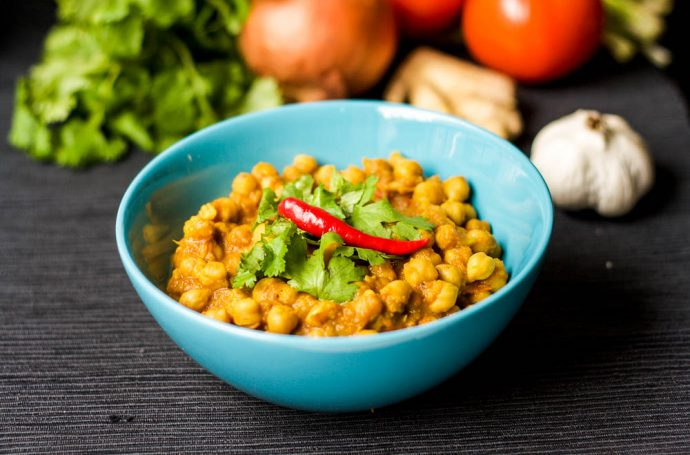 Recipe for Chickpeas Indian Style