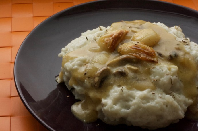 Vegan Mashed Potatoes Almond Milk