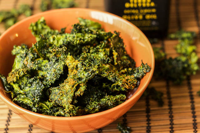 Kale Chips Indian Style