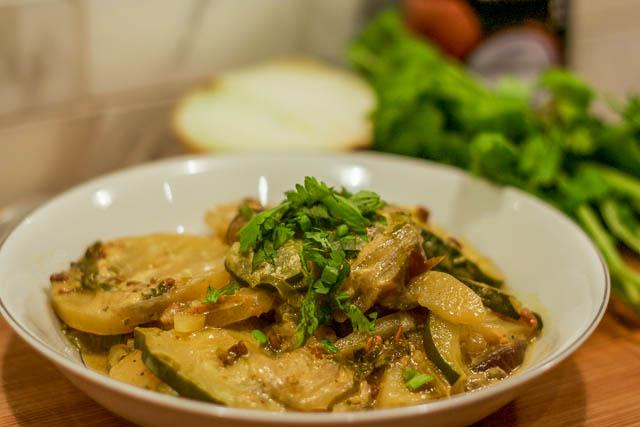 Zucchini Curry Recipe
