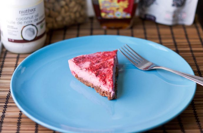 Raw Raspberry Cheesecake Recipe