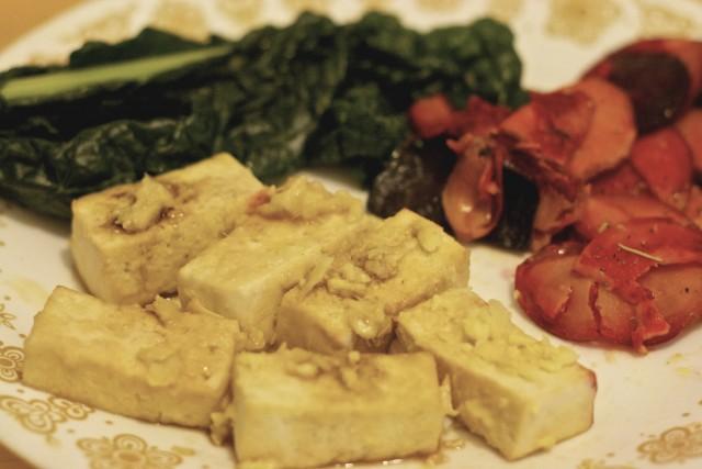 Ginger Miso Tofu Recipe